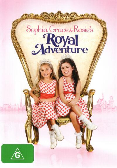 Sophia Grace and Rosie's Royal Adventure  - DVD - NEW Region 4
