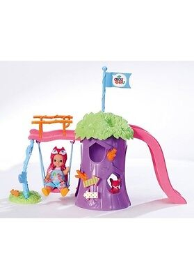 Zapf Creation Spielplatz mit Puppe, »mini CHOU CHOU« , Minipuppe Susy, Gr. 12 cm