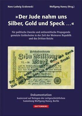 Der Jude nahm uns Silber, Gold und Speck... Für politische und antisemitische Pr