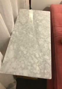 Large Marble Side Table
