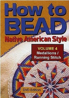 How to Bead Native American Style Vol. 4 Medallions Running Stitch DVD