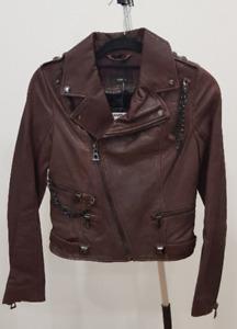 Rudsak leather biker jacket