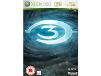 Halo 3 limited edition metal case XBOX360