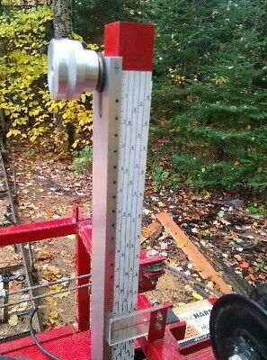 Adjustable Log Scale Hud-son Hudson Oscar 18 Custom Made Band Saw Mill