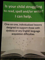 Is Your Child Struggling to Read, Write &/or Spell? I Can Help