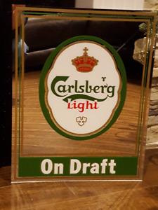 Carlsberg Mirror Bar Mirror Carlsberg Beer Mirror