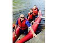 Gumotex orinoco inflatable white water raft