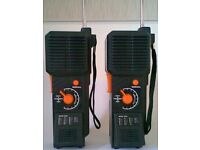 Pair of Vintage Morse Code Two Way Radios