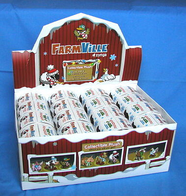 16   Farmville By Zynga Collectible Plush Animals   Unused   Nib     160 Fv Cash
