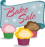 BAKE SALE & GIFT WRAPPING FUNDRAISER