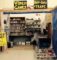 VIDEO GAMES & TOYS - NEW BOOTH COURTICE FLEA MARKET