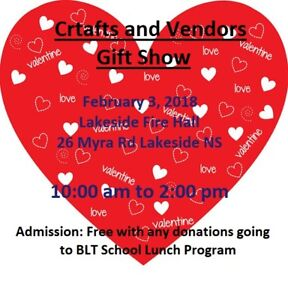 Valentine Craft & Vendors Show
