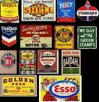 n scale gas station building decals series 4