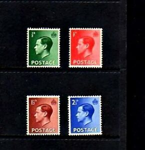 GREAT-BRITAIN-1936-KING-EDWARD-VIII-4-X-MINT-MNH-SET