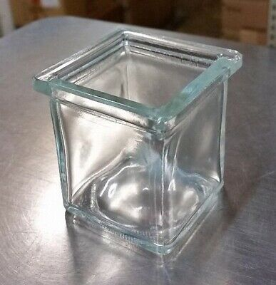3 oz Square Votive Style Candle Glass Jar Container (Lot of 24)
