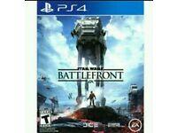 Star wars battlefront ps4 game