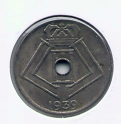 5 cent 1939 vlaams/frans * LEOPOLD III * nr 5249