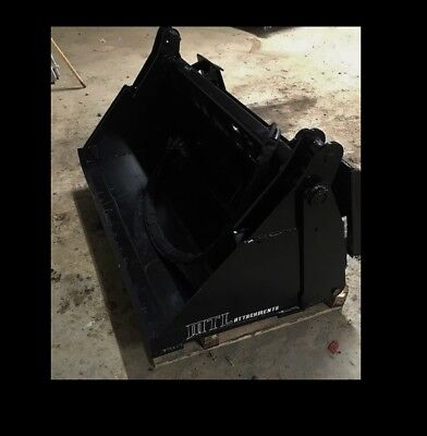 Mtl Attachments 42 Toro Dingo-vermeer 4 In 1 Hydraulic Bucket Mini Skid Steer