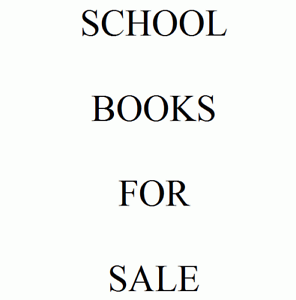 Miscellaneous school text books - incl rare & hard to find books