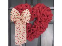 Valentines Wreath making workshop