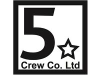 Events Crew - Looking for a varied job and enjoy a challenge?