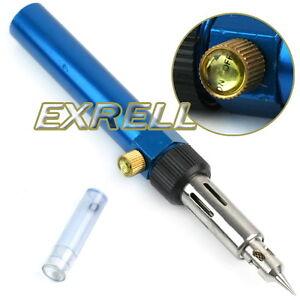 Cordless-Gas-Blow-Torch-Soldering-Solder-Iron-Gun-Butane-Welding-Pen-Burner-Tool