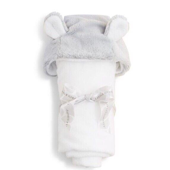 Little Giraffe Luxe Dot Infant Towel with Ears