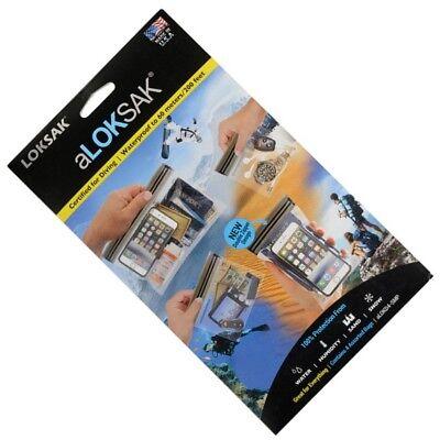 Aloksak Waterproof Bags - 4 Set Aloksak One ea 5x4 4x7 6x6 9x6 Waterproof Pouch Bags LOKSAK SMP ALOKD4-SMP