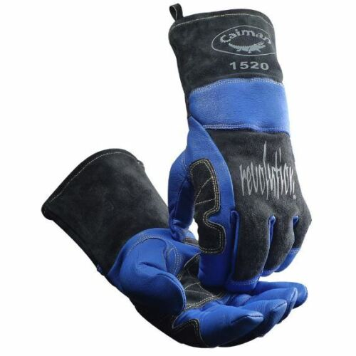 Caiman 1520 Welding Gloves MIG STICK PLASMA PREMIUM GOAT GRAIN WOOL INSULATED