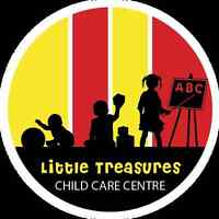 Choose Quality for your children at Little Treasures Child Care!