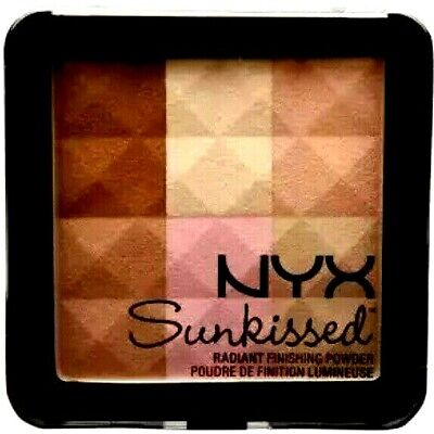 Used, NYX Professional Sunkissed Radiant Finishing Blush Bronzer Powder - 02 Sunkissed for sale  Fort Lauderdale