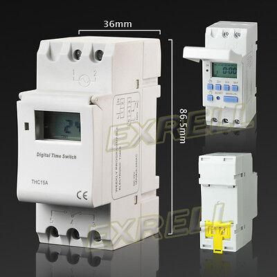 Timer-Temporizzatore-Digitale-Programmabile-Settimanale-Display-LCD-DC12V