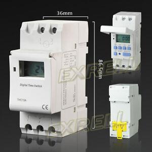 Timer-Temporizzatore-Digitale-Programmabile-Settimanale-Display-LCD-12V