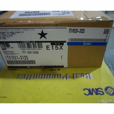 One New Smc Itv1031-312s Slide Cylinder In Box Spot Stock Yp1