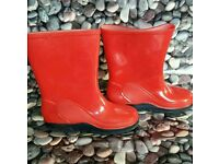 ***Kids welly boots infant size UK 11 EUR 28 1/2
