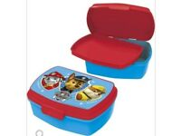 Paw patrol lunch box with tray