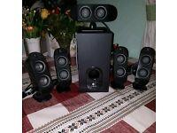 Logitech surroud sound speakers 5.1 140W