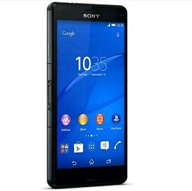Sony Xperia z3 compact with new screen protector