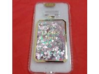 Pink /Turquoise glitter silicone light cover for7.8