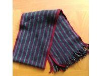 Ted Baker men's woollen scarf