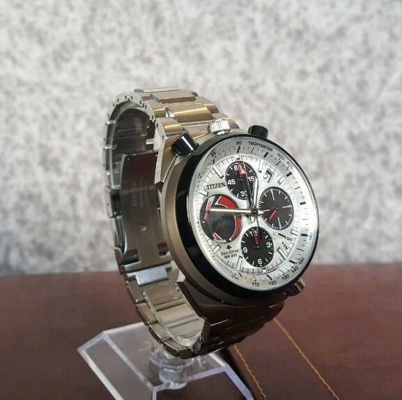 f62b03366 NEW Citizen Bullhead Racing Chronograph eco drive Pro Master watch solar  (seiko alba tag aka)
