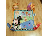 BABY Fisher Price Jungle ACTIVITY PLAY MAT playmat