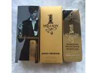 PACO RABANNE 'MENS MILLION' STUNNING, NEW-SEALED-GIFTBOXED,100ML, COLLECT/DELIVERY. TEL.07803366789