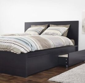 ASAP! Ikea MALM KING SIZE bed with 4 drawers