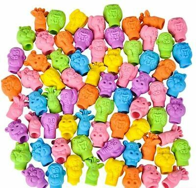 1000 Capsuled Zoo Eraser Carnival Fun Fair Party Game Prizes Award Vending Toy