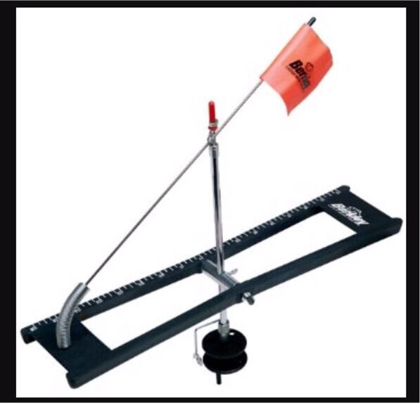 Berkley ice fishing tip up parts trailers accessories for Ice fishing tip up parts