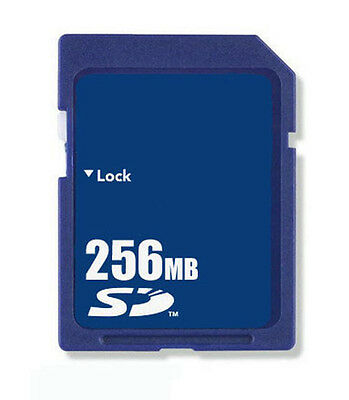 256MB SD Memory Card Standard Secure Digital Generic New W/Case Free Shipping