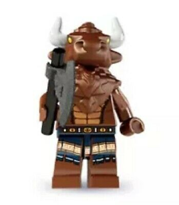 "LEGO MINIFIGURES SERIES 6 (8827) The ""MINOTAUR"" ~ (SEALED PACK) FREE SHIPPING"