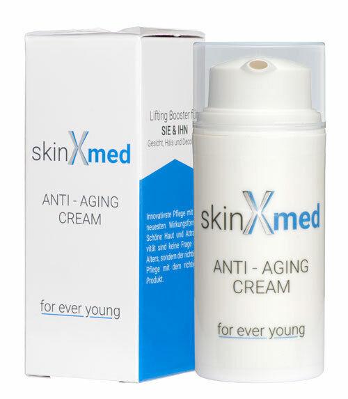SkinXmed Anti-Aging-Creme - Lift Sofort Effekt Gesicht & Dekollete gegen Falten