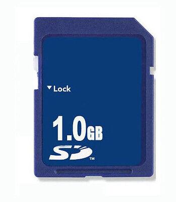 1GB SD Memory Card Standard Secure Digital OEM New W/Case